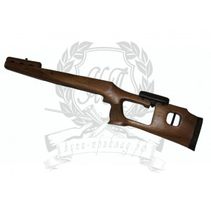 [#1351] ОП-СКС, ВПО-208 Ложа Орех по типу СВД с подушкой с накладкой (Ручная работа)