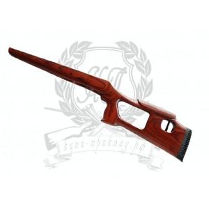 [#1422] БАРС КО-4 сб.3 Ложа Шпон по типу СВД с эргоном. щекой (Ручная работа)